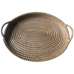 Belgian Winnowing Farm Basket