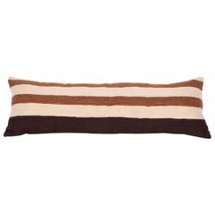 Pillow Case Fashioned from a Mid-20th Century Anatolian Angora Siirt Blanket
