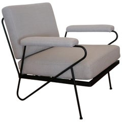 Inco Iron Lounge Chair Midcentury California Design, 1950s