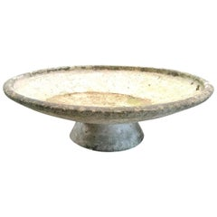 Willy Guhl Adjustable Two-Piece Concrete Bowl Planters