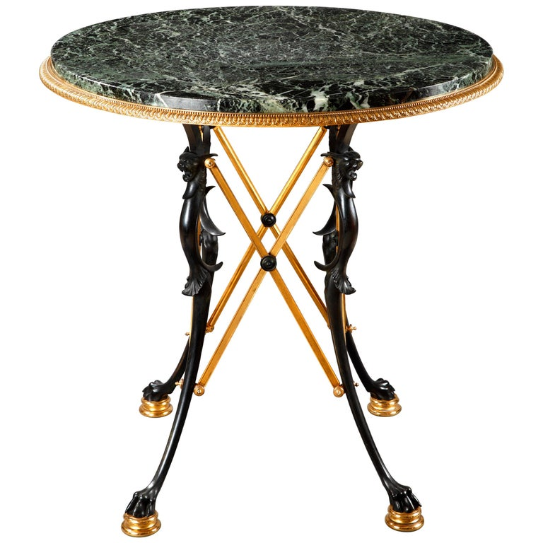 Neo-Greek Center Table Attributed to L.C. Sévin and F. Barbedienne For Sale