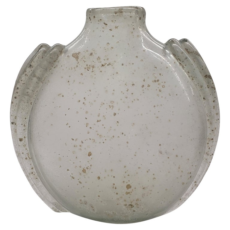 Overscaled Scavo Vase by Barbini For Sale