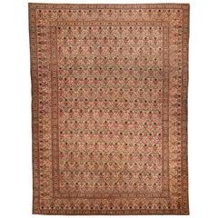 Antique Persian Kirman Rug