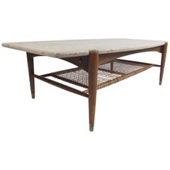 Mid-Century Modern Coffee Table by Bruno Mathsson for DUX