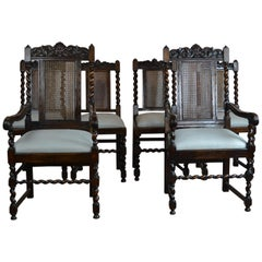 Jacobean Style Dining Chairs