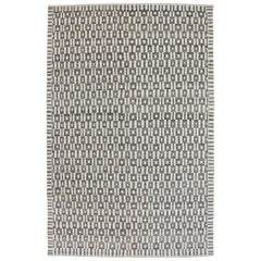 "Orley Shabahang Signature ""Windows"" Carpet in Pure Handspun Wool, Organic Dyes"