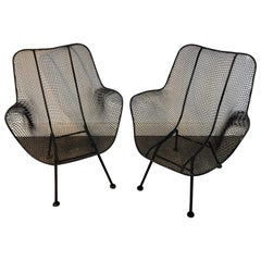 Pair of Sculptra Garden Chairs, by Russell Woodard