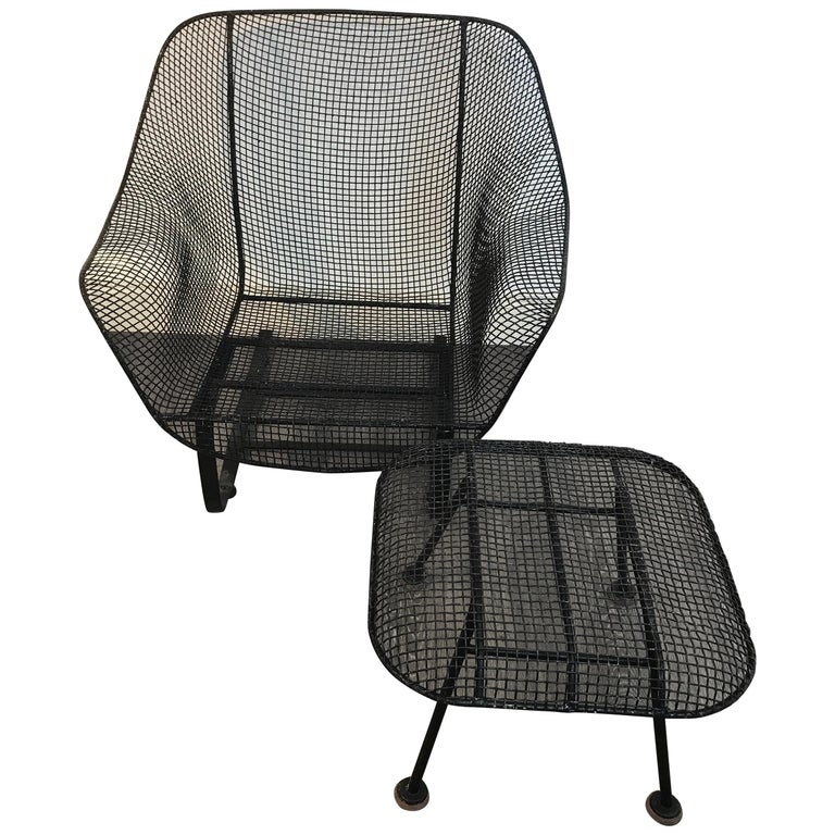 """Sculptra """"Bounce"""" Lounge Chair and Ottoman by Russell Woodard For Sale"""