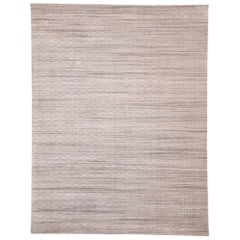 New Transitional Area Rug with Scandinavian Modern Swedish Shabby Chic Style