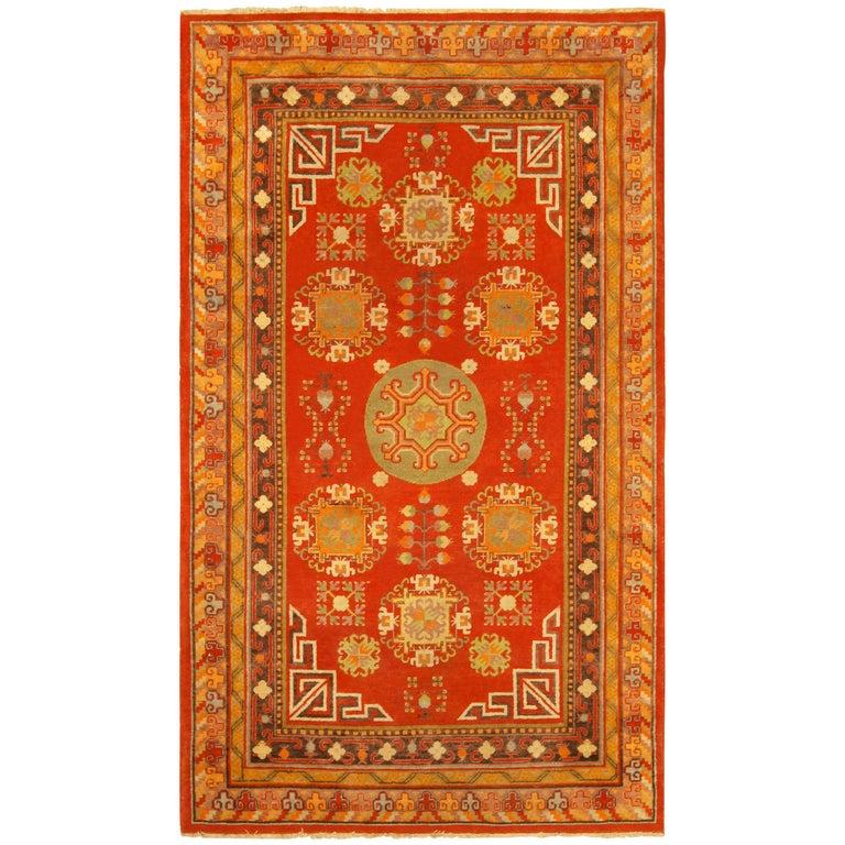 Vintage Khotan 'Samarkand' Rug For Sale