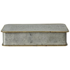 Pewter Box by Nils Fougstedt