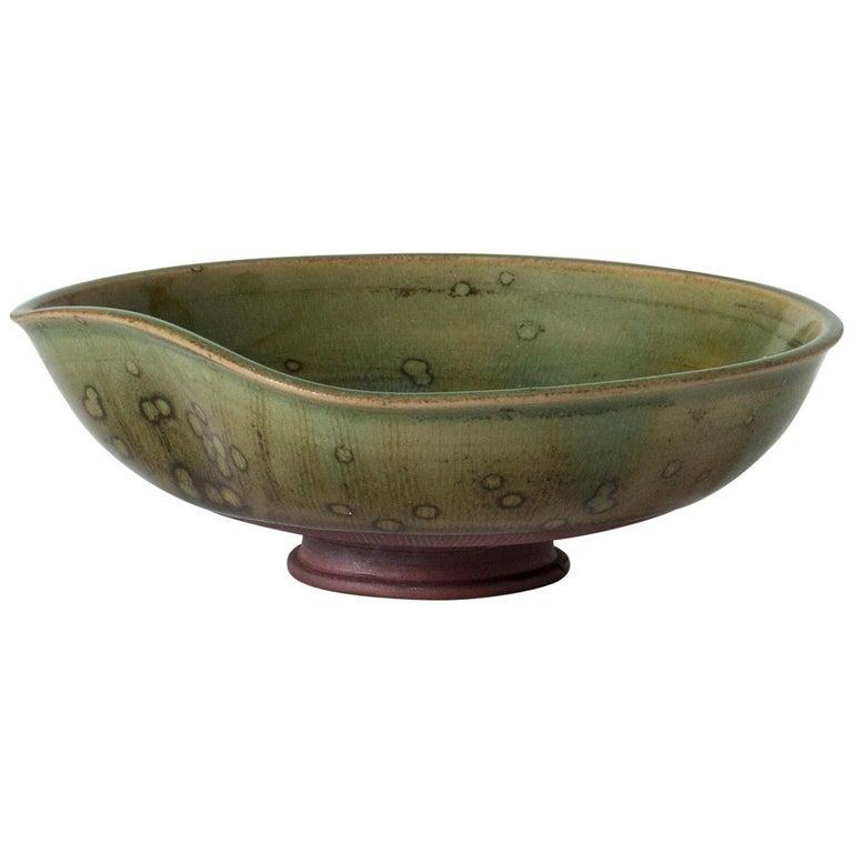 """Small """"Farsta"""" Bowl by Wilhelm Kåge For Sale"""