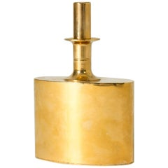 Gilded Brass Flask by Pierre Forssell