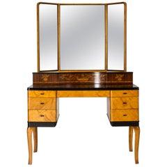 "1930s ""Haga"" Dressing Table by Carl Malmsten"