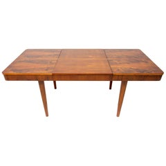 Mid century Adjustable Dining Table by Jindřich Halabala for UP Závody Brno
