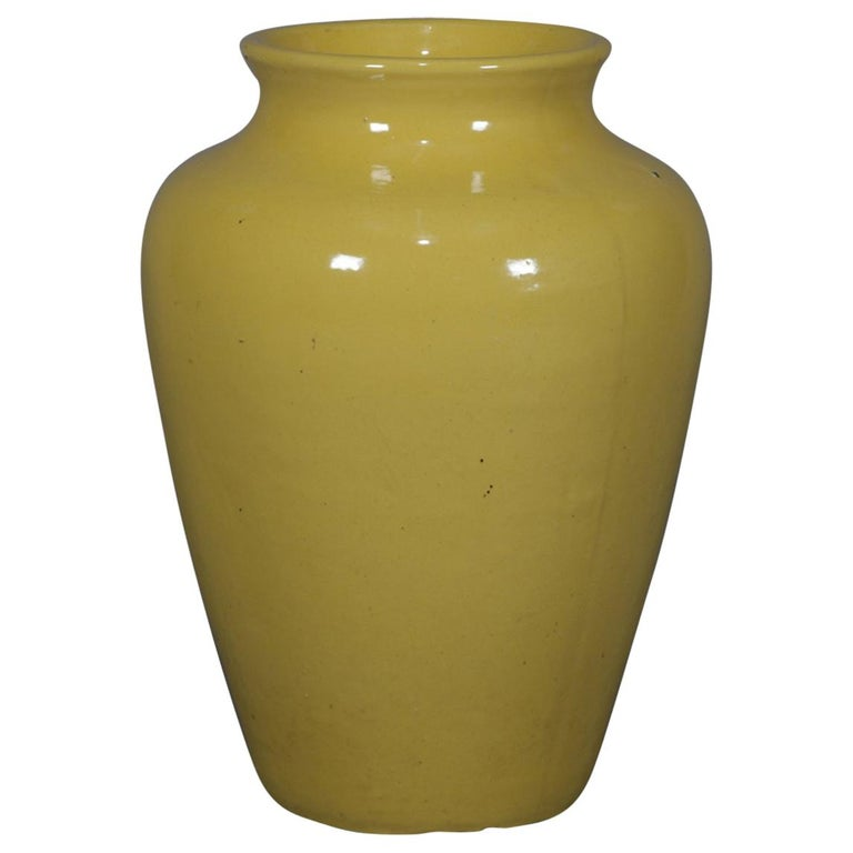 Vintage McCoy School Art Pottery Floor Vase, 20th Century For Sale