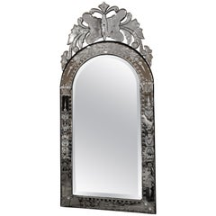 20th Century Venetian Mirror with Butterfly Motif