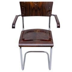 Modernist B43 Tubular Desk Chair by Mart Stam, 1950s