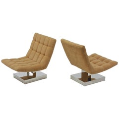 Cantilevered Lounge Chair by Milo Baughman