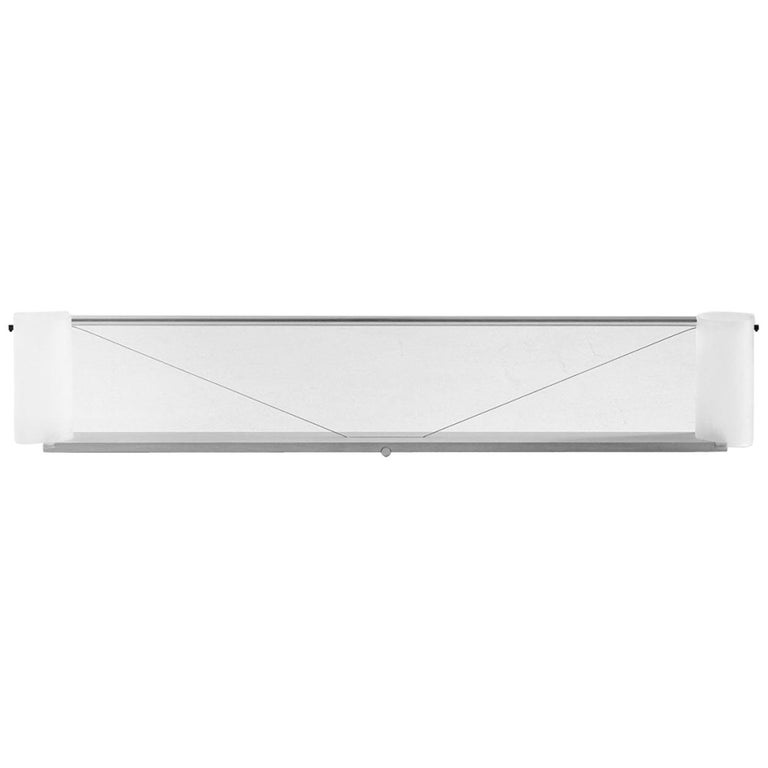 Equilibrium Table Light in Aluminum by Guglielmo Poletti For Sale