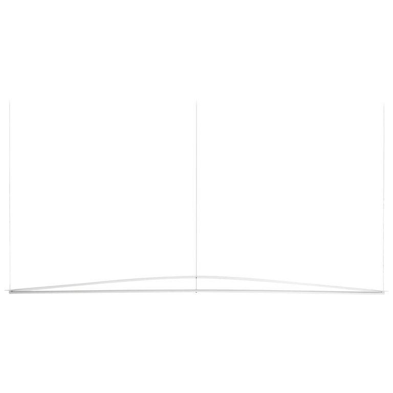 Equilibrium Pendant Light in Aluminium by Guglielmo Poletti For Sale