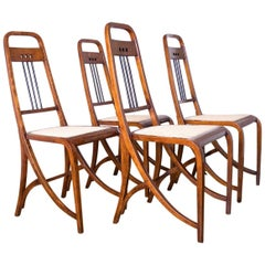 Wien Thonet Secession Chairs No.511 Designed by Josef Hofmann
