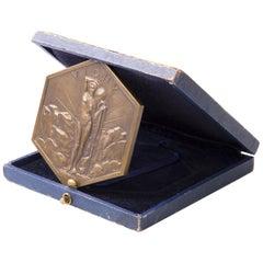 Art Deco Bronze Medal Vichy