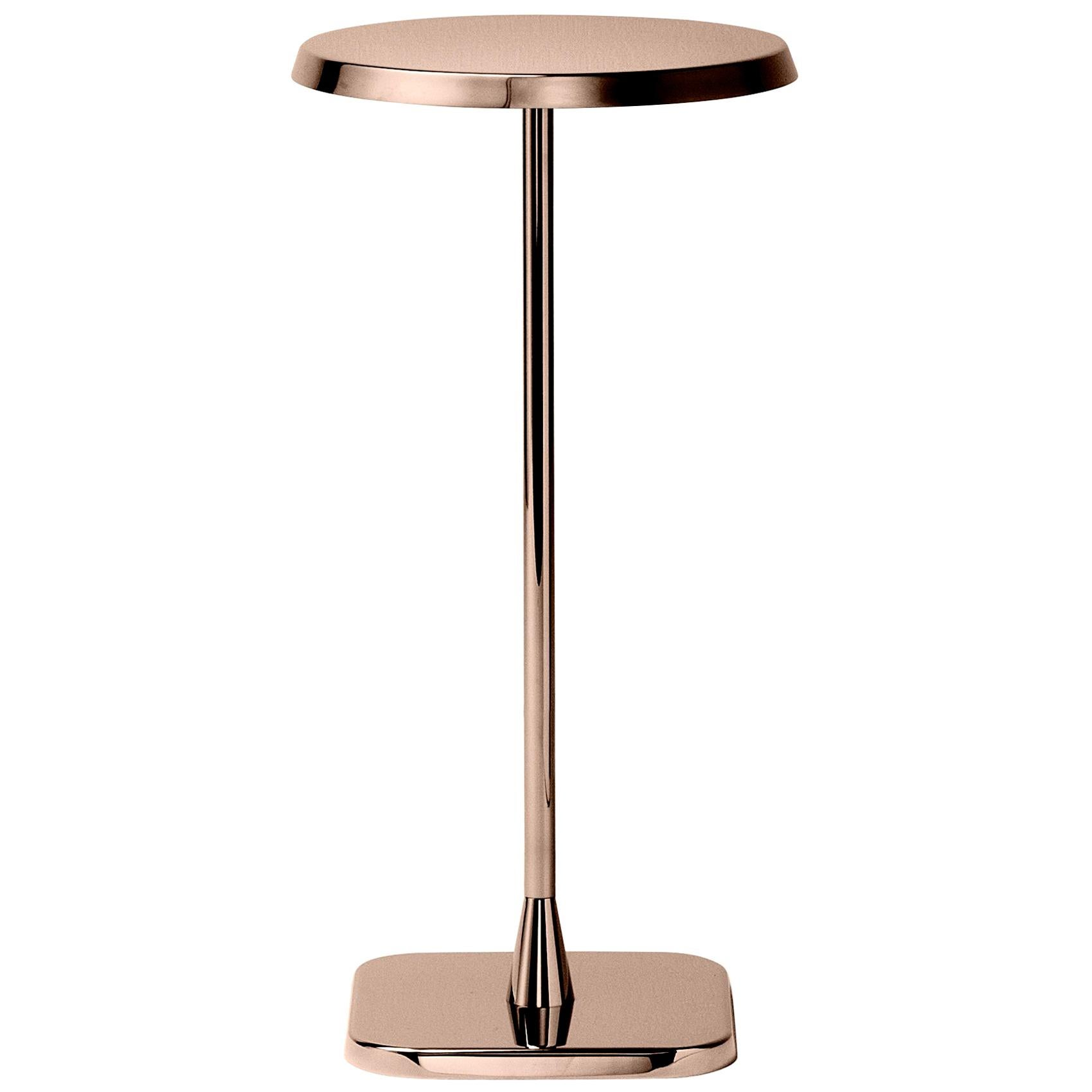 Ghidini 1961 Opera Small Round Table in Stainless Steel by Richard Hutten