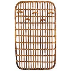 Bonacina, Stylish Bamboo Wall Coat Rack