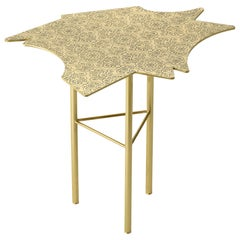 Ghidini 1961 Le Ninfee Middle Coffee Table in Brass by Alessandro Mendini