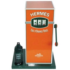 Jackpot Rare Hermes Eau d'orange Verte Window Display, 1979
