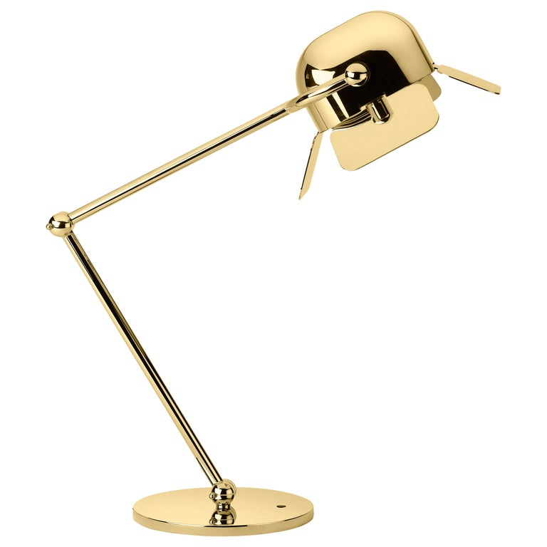 Ghidini 1961 Flamingo Table Lamp in Aluminum by Nika Zupanc For Sale