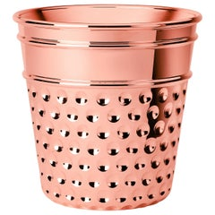 Ghidini 1961 Thimble Ice Bucket in Copper by Studio Job