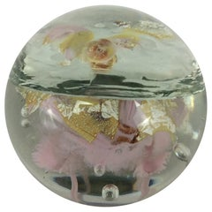 Murano Italian Art Glass Paperweight