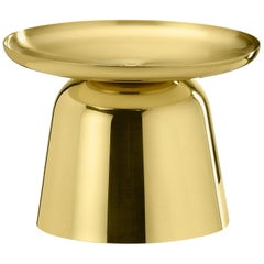 Ghidini 1961 Wide Flirt Collection Vase in Brass by Noè Duchaufour-Lawrence