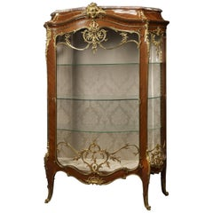 Louis XV Style Exhibition Vitrine by François Linke & Léon Messagé, circa 1890