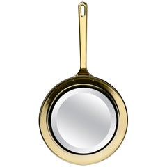 Ghidini 1961 Frying Pan Mirror in Aluminum by Studio Job