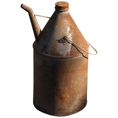 Vintage Oil Bin from Hungary, circa 1940s