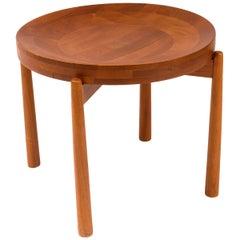 Jens Quistgaard Style Teak Tray Table, Denmark, 1960s