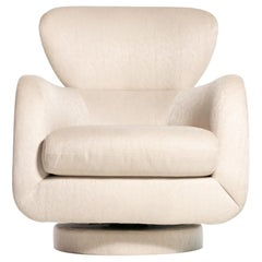 Vladimir Kagan Sculptural Swivel Chair for Directional
