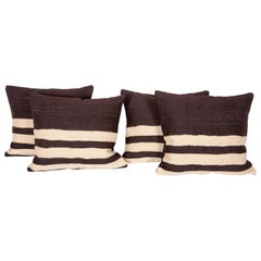Pillows are Made from a Mid-20th Century, Anatolian Angora Siirt Blanket