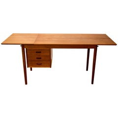 Mid-Century Modern Drop-Leaf Desk by Arne Vodder for Sigh and Son Denmark, 1960s