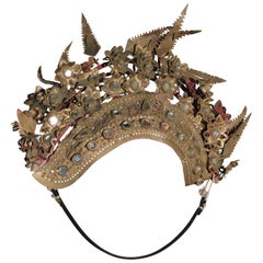 Chinese Qing Dynasty Provincial Wedding Tiara