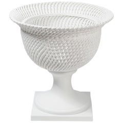 Bowl Palladio, Matt White Ceramic, Italy