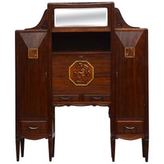 "Art Deco Sideboard / Secretary, Paris, Signed ""Therond"", dated 1924"