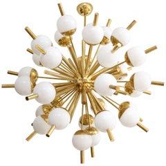 Mid-Century Modern Style Italian Sputnik Chandelier