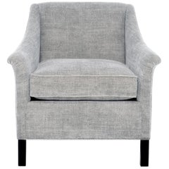 Isabelle Upholstered Chair in Wool, Vica designed by Annabelle Selldorf