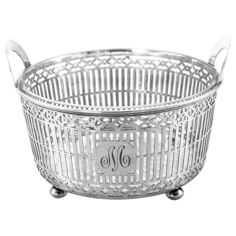 Sterling Ice Bucket For Sale