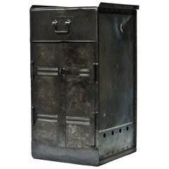 Old American Cabinet in Riveted Steel, 1942, US