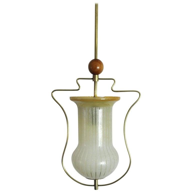 Art Deco Pendant Light, Scandinavian, 1930s For Sale
